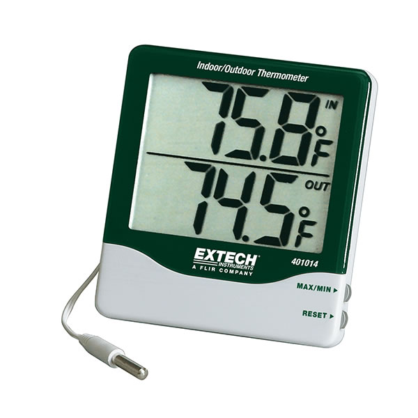 TERMOMETRO DIGITAL INT-10/60°C EXT-50/70°C